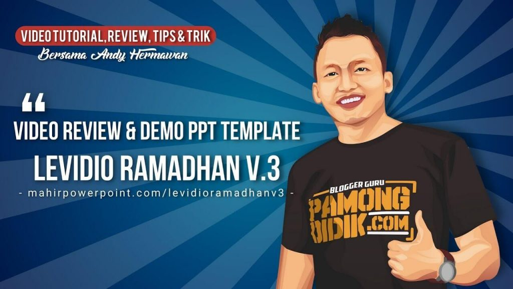 Video Review & Demo Template Levidio Ramadhan Volume 3
